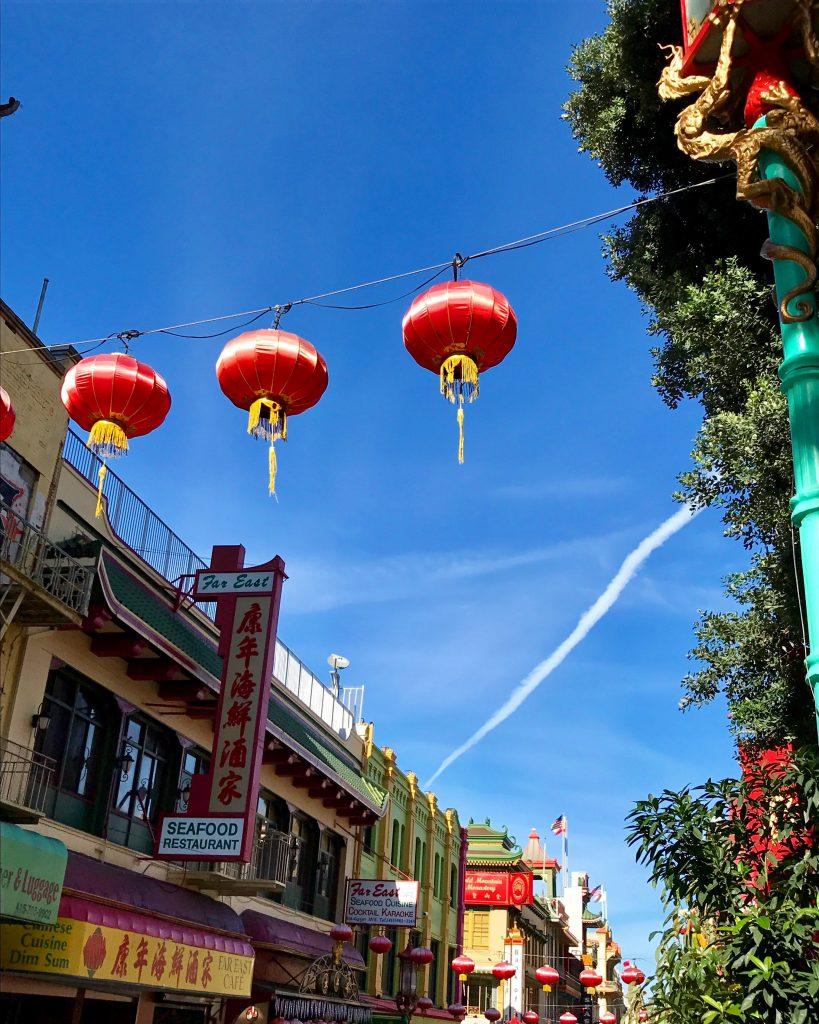 Chinatown SanFran; Mercedes Santana