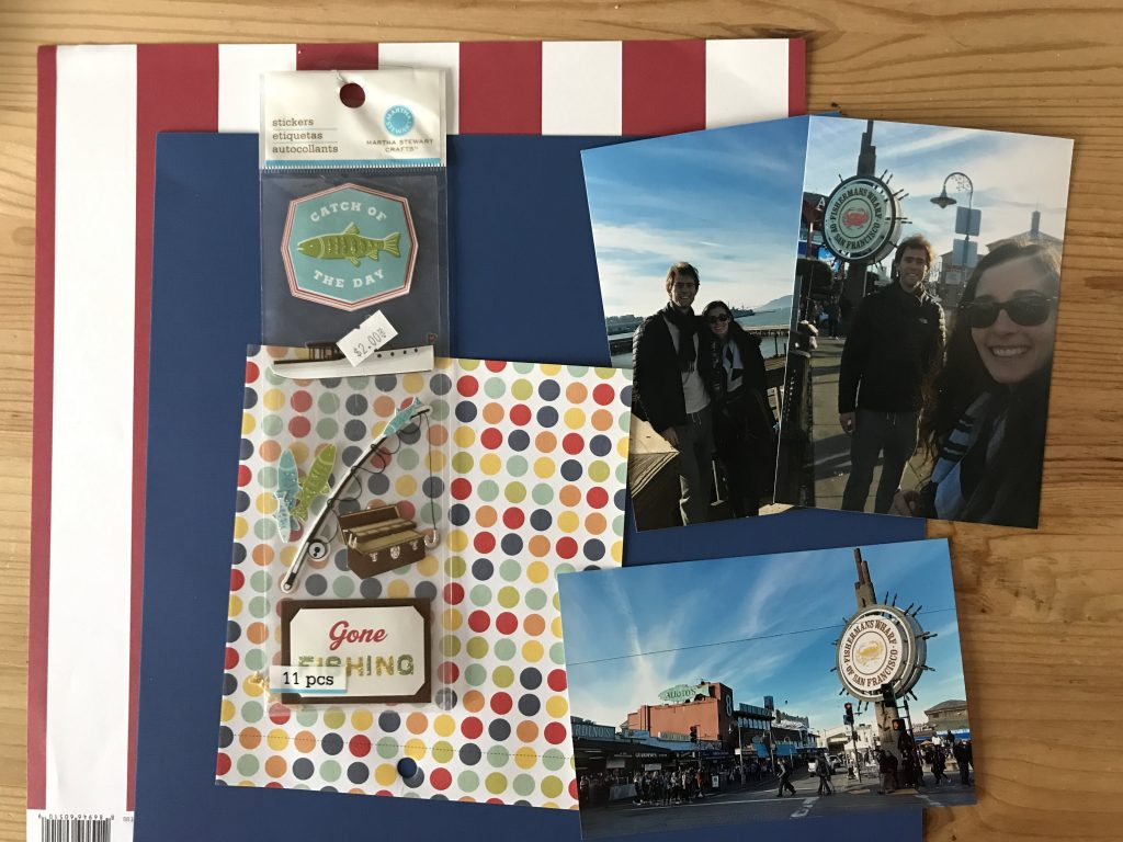 San Fransisco Scrapbook/ Pier 39 and Fisherman's Warf