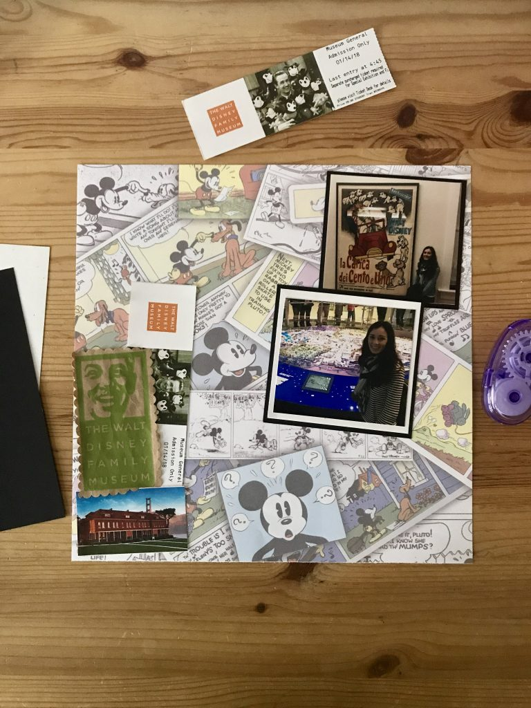 Disney San Fransisco Scrapbook