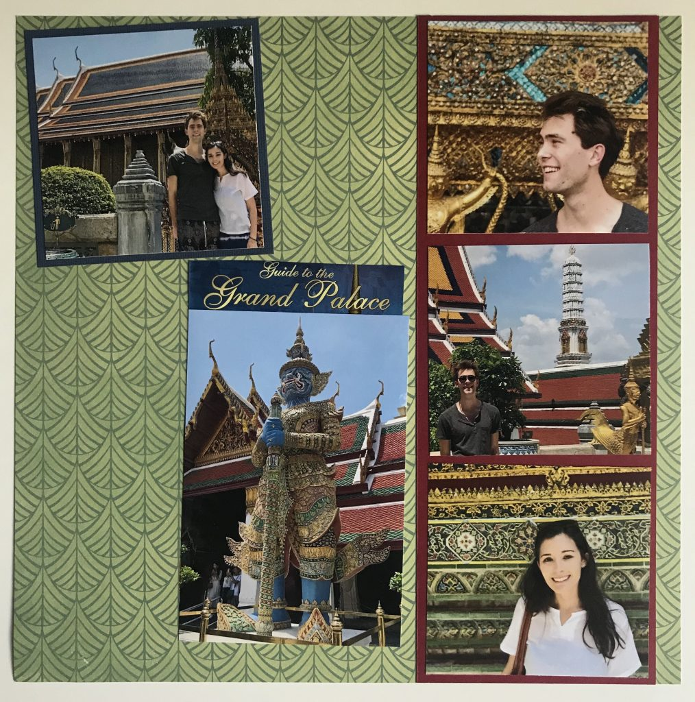 The Grand Palace Scrapbook, Passports and Papers Mercedes Santana