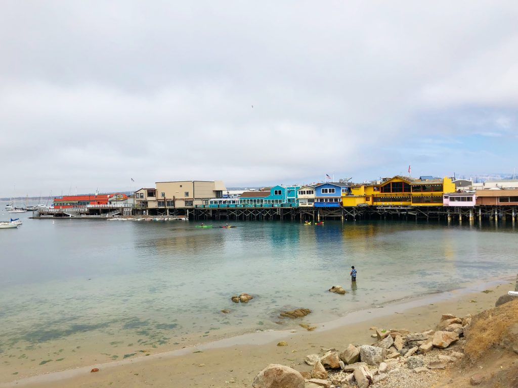 Monterey's Fisherman's Warf; Mercedes Santana; Passports and Papers