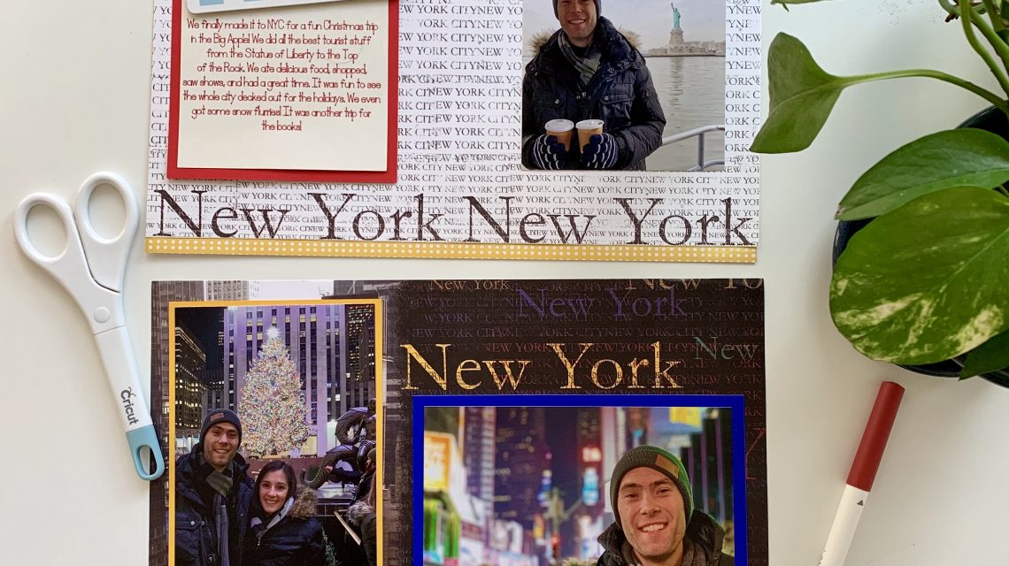 New York City Scrapbook Pages; Mercedes Santana Passports & Papers