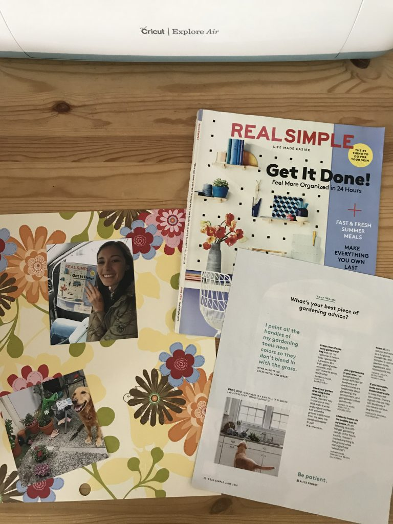 Real Simple Page Materials